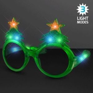 Light Up Holiday Glasses